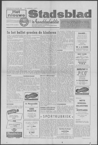 Het Nieuwe Stadsblad 1960-01-20