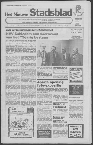 Het Nieuwe Stadsblad 1979-02-07