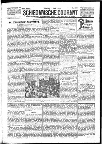 Schiedamsche Courant 1933-06-13