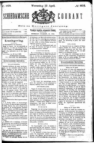 Schiedamsche Courant 1879-04-23