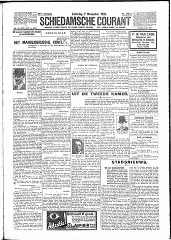 Schiedamsche Courant 1931-11-07