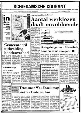 Rotterdamsch Nieuwsblad / Schiedamsche Courant / Rotterdams Dagblad / Waterweg / Algemeen Dagblad 1980-04-10