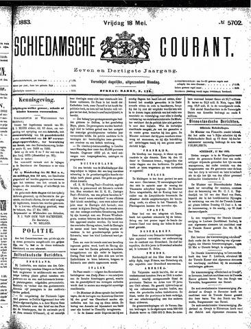 Schiedamsche Courant 1883-05-18