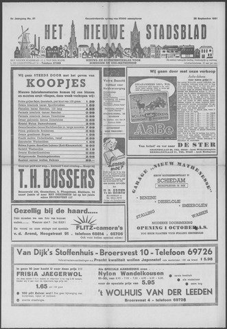 Het Nieuwe Stadsblad 1951-09-28
