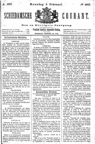 Schiedamsche Courant 1877-02-05