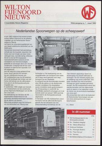 Wilton Fijenoord Nieuws 1993