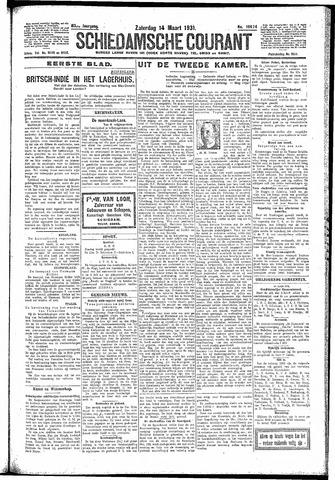 Schiedamsche Courant 1931-03-14