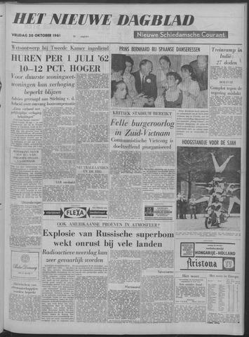 Nieuwe Schiedamsche Courant 1961-10-20