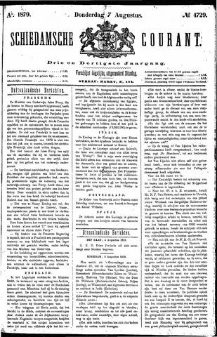 Schiedamsche Courant 1879-08-07