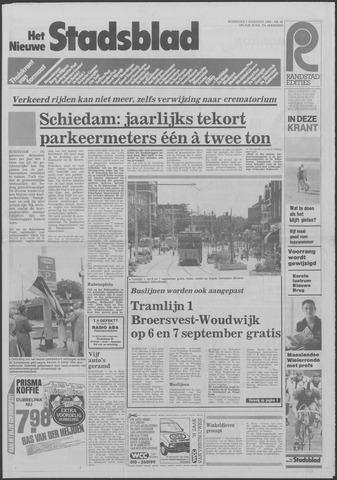 Het Nieuwe Stadsblad 1985-08-07