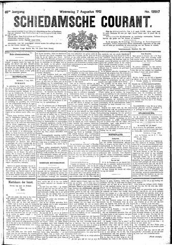 Schiedamsche Courant 1912-08-07
