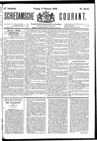 Schiedamsche Courant 1898-02-04