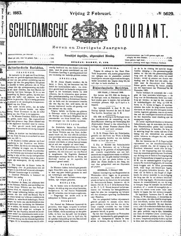 Schiedamsche Courant 1883-02-02