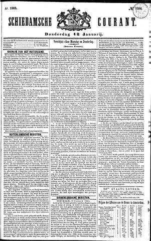 Schiedamsche Courant 1866-01-18