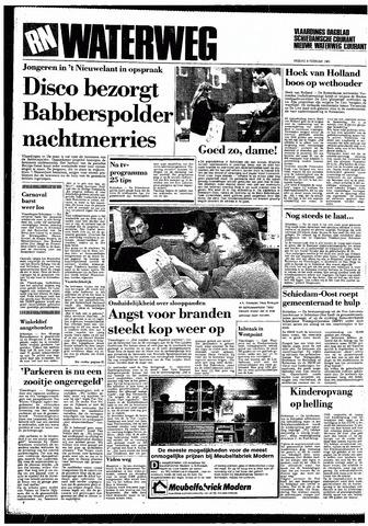 Rotterdamsch Nieuwsblad / Schiedamsche Courant / Rotterdams Dagblad / Waterweg / Algemeen Dagblad 1985-02-08