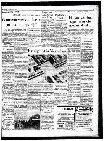 Rotterdamsch Parool / De Schiedammer 1963-08-14