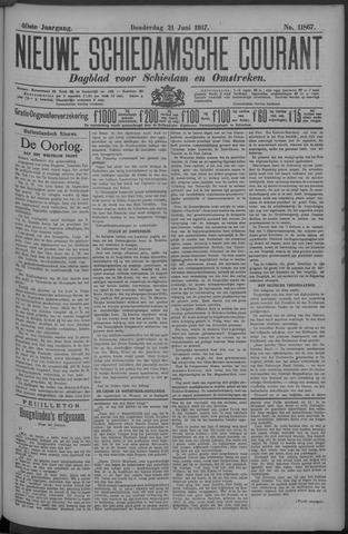 Nieuwe Schiedamsche Courant 1917-06-21