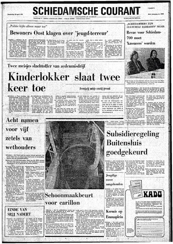 Rotterdamsch Nieuwsblad / Schiedamsche Courant / Rotterdams Dagblad / Waterweg / Algemeen Dagblad 1974-04-25
