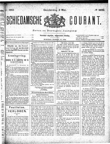 Schiedamsche Courant 1883-05-03