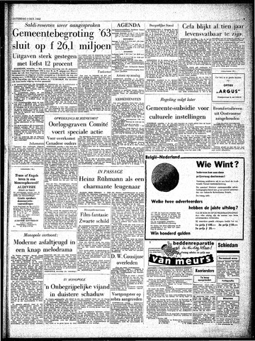 Rotterdamsch Parool / De Schiedammer 1962-10-06