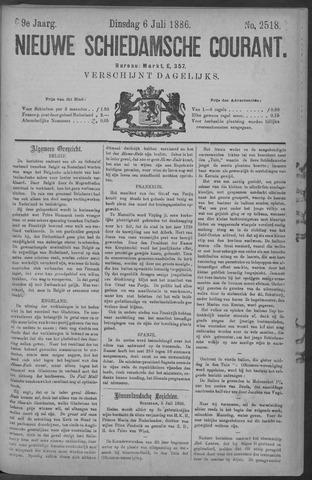 Nieuwe Schiedamsche Courant 1886-07-06
