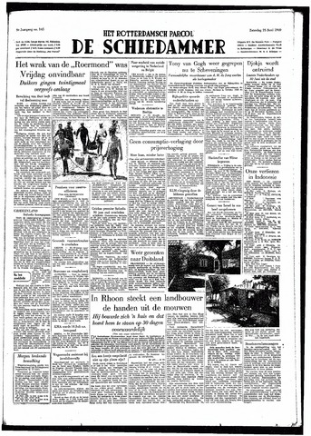 Rotterdamsch Parool / De Schiedammer 1949-06-25