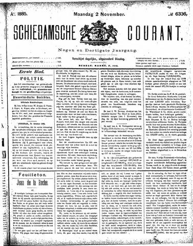 Schiedamsche Courant 1885-11-02
