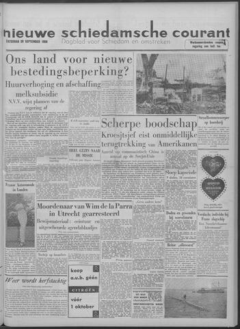 Nieuwe Schiedamsche Courant 1958-09-20