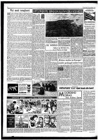 Rotterdamsch Parool / De Schiedammer 1957-11-13