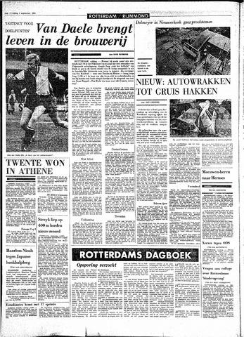Rotterdamsch Parool / De Schiedammer 1970-09-04