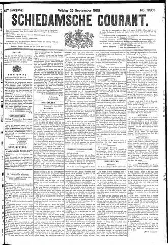 Schiedamsche Courant 1908-09-25