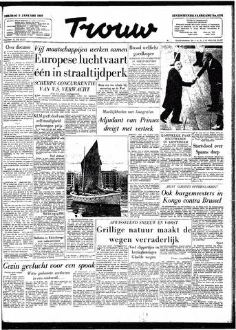 Trouw / De Rotterdammer 1959-01-09