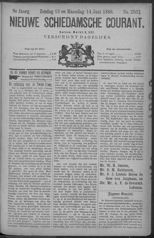 Nieuwe Schiedamsche Courant 1886-06-14