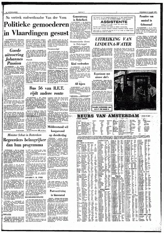 Trouw / De Rotterdammer 1971-03-31