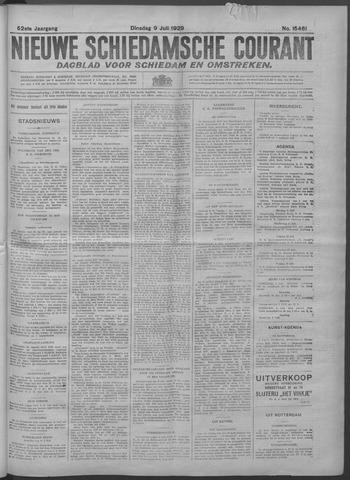 Nieuwe Schiedamsche Courant 1929-07-09