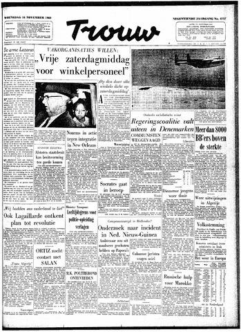 Trouw / De Rotterdammer 1960-11-16
