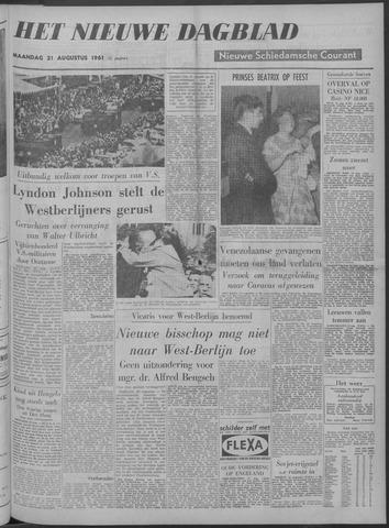 Nieuwe Schiedamsche Courant 1961-08-21