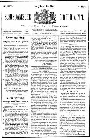 Schiedamsche Courant 1877-05-18