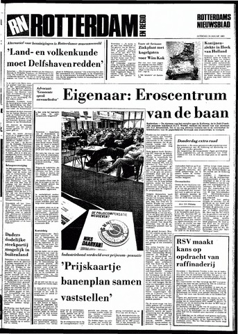 Rotterdamsch Nieuwsblad / Schiedamsche Courant / Rotterdams Dagblad / Waterweg / Algemeen Dagblad 1983-01-29