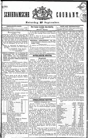 Schiedamsche Courant 1851-09-27