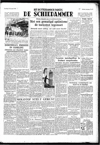 Rotterdamsch Parool / De Schiedammer 1948-01-10