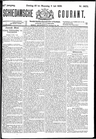 Schiedamsche Courant 1898-07-11