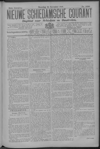 Nieuwe Schiedamsche Courant 1918-11-25