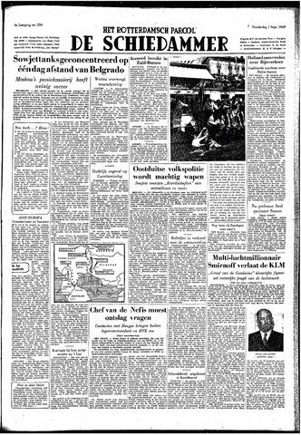 Rotterdamsch Parool / De Schiedammer 1949-09-01