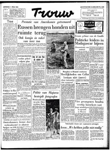 Trouw / De Rotterdammer 1959-07-07