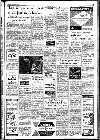 Rotterdamsch Parool / De Schiedammer 1961-11-10