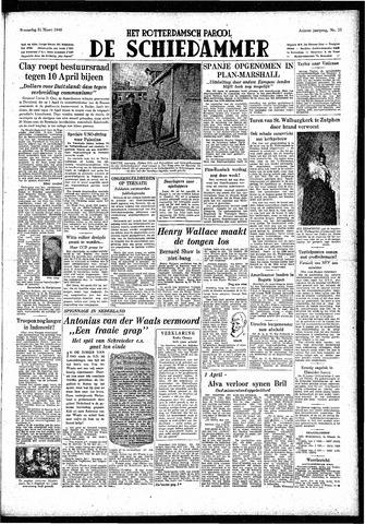 Rotterdamsch Parool / De Schiedammer 1948-03-31