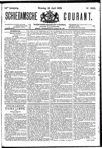 Schiedamsche Courant 1898-04-26