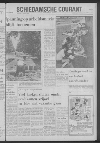 Rotterdamsch Nieuwsblad / Schiedamsche Courant / Rotterdams Dagblad / Waterweg / Algemeen Dagblad 1970-06-09