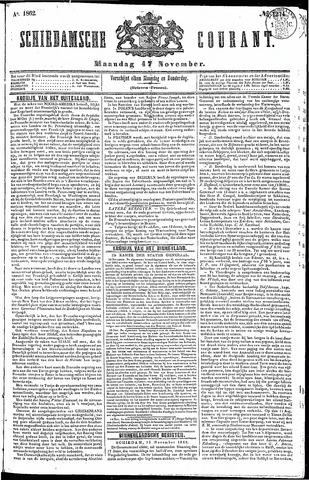 Schiedamsche Courant 1862-11-17